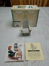 Take A Seat Raine Adirondack Chair Biltmore Estate Collectibles Nib