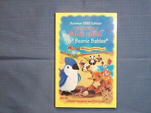 BEANIE BABIES SUMMER 1998 EDITION COLLECTOR'S VALUE GUIDE PRICE BIRTHDAY GAMES
