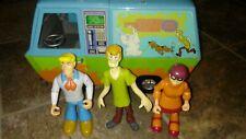 Scooby Doo Ghost Patrol The Mystery Machine Van Plus Fred Shaggy Velma Figures