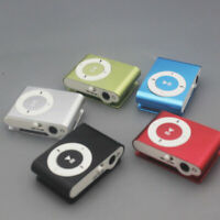 Sport MP3 Player Mini Clip MP3 Player Mini Walkman Mp3 Gift Support TF Card
