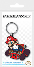 NINTENDO SUPER MARIO MARIO KART DRIFT RUBBER KEYRING NEW OFFICIAL MERCHANDISE