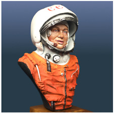 1/9 Scale Cosmonaut Resin Bust Unfinished Unpainted