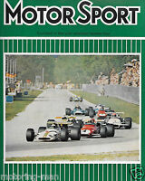 SAD REPORT ON THE DEATH OF JOCHEN RINDT ITALIAN GRAND PRIX MONZA 1970 LOTUS 72