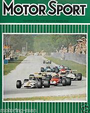 Triste rapport sur la mort de jochen rindt italian grand prix monza 1970 lotus 72