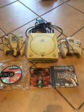 Console Sega Dreamcast + Jeux Outtrigger Quake Ultimate Fighting