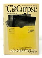 Sue Grafton - C is for Corpse - 1st 1st - Kinsey Millhone Mystery - Auth A Alibi