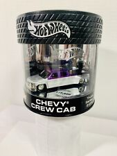 Hot Wheels Oil Can HOBBY Truck Series Chevy Crew Cab Purple/Silver 1/7000