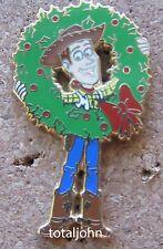 Disney DLR - A Disney Pixar Holiday Mystery Tin Set Woody Pin Toy Story
