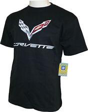 Corvette C7 Logo Basic T-Shirt, GM Autorisé, Stingray, 2020, Neuf, Envoi Éclair