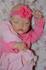 "Custom Order Reborn Twin B 17"" doll Bonnie Brown~ Reborns by Jill."