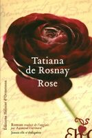 Livre rose Tatiana de Rosnay book