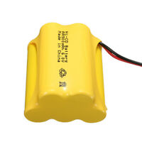 Ni-Cd 6V 900mAh JST-SYP Plug Rechargeable Battery Solar Light For Racing Remote