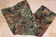 Military Surplus, New Cold Weather Pants, Woodland Camouflage, Medium Regular