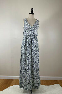 Lucky Brand- V Neck Floral Maxi Dress- Medium