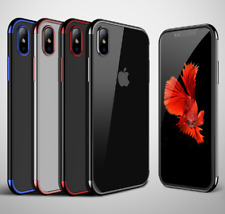 iPhone X, XS Back Case Cover Crystal clear TPU Soft back cover bumper mobile