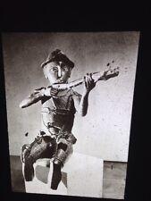 Benin: Portuguese Archer Bronze Sculpt- African Nigerian Tribal Art 35mm Slide