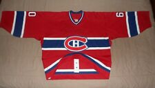 Montreal Canadiens #60 Theodore Signed Reebok NHL Hockey Jersey 60 Goalie Cut