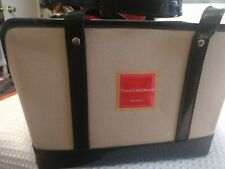 New listing Dog Carrier By Isaac Mizrahi. Has a water stain left in my car. For tiny dog.