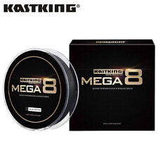 KastKing Mega 8 Strands Super Braided Fishing Line 300yds 10LB Black FishingLine