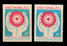 N.501-Vietnam –PROOF - 40th of Vietnamese Red Cross 1986