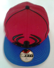 New Era 59Fifty Spiderman Big/Under Red Fitted Hat-New Old Stock - 7 1/4   2009