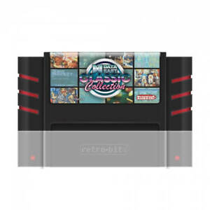 Retro-Bit 5 in 1 SNES Game Cartridge Data East Classic Collection for SNES 16Bit