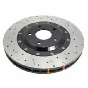 DBA 52314BLKXS 5000 Cross Drilled/Slotted Disc Brake Rotor - Black Hat NEW