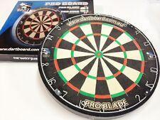 BRAND NEW Bristle PRO BLADE Australia Dart Board + FREE DARTS MICRO-BAND