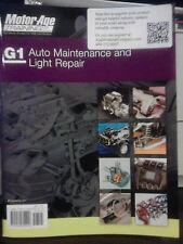 G1 Auto Maintenace and Light Repair Motor Age ASE BRAND NEW