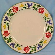 Dorchester Salad Plate Farberware 388 Pink Blue Yellow Flowers