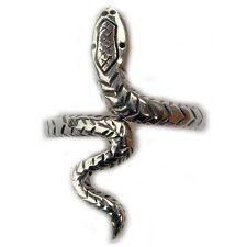 Sterling Silver Celtic Snake Adjustable Ring Band R308