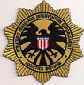 """AVENGERS Movie Agents SHIELD Logo 4"""" Embroidered Logo Patch- (ASPA-003)"""