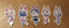 Animal Crossing New Horizons Handmade Stickers - Purrfect Pals - Cat Villagers