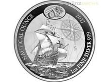 50 Francs Nautical Ounce Santa Maria Rwanda Ruanda 1 oz Silber Silver PP 2017