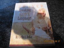 DVD DR. CREFLO A. DOLLAR PRAYER SPEAKING GODS LANGUAGE 4 DISC VGC