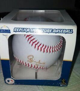 2002 HOF StL Cardinals Ozzie Smith Steiner Replica Signature Baseball