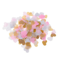 1400pcs Heart Shaped Table Scatter Confetti Balloon Wedding Party Decor