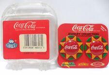 Coca-Cola - ORECCHINI DISCO INSEGNA - cm.3,3