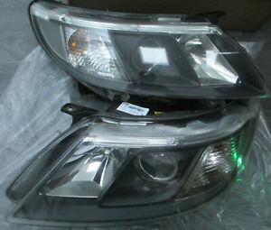 Genuine Saab 93 9-3 2008-12 PAIR Xenon Headlights Headlamps Set & Ballast Bulbs