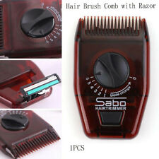 Hot Hairdressing Comb Portable Travel Mini Hair Brush Comb with Razor Comb.