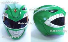 Outside Cliplock ! Mighty Morphin Power Rangers GREEN Life-size Helmet Costume