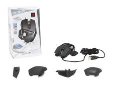 Mad Catz R.A.T. RAT 7 Black Laser Wired USB Gaming Mouse 6400dpi  for PC & Mac
