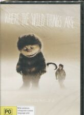 WHERE THE WILD THINGS ARE - Max Records, Catherine O'Hara, Forest Whitaker - DVD