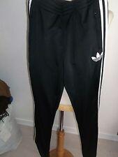 pantalon  ADIDAS noir/blanc T.36