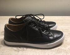 Coach Men Size 7 Black Leather Fashion Sneaker