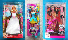 LOT 3 BARBIE DOLLS: BLACK FASHIONISTA, BRIDE & POWER PRINCESS (MUÑECA). BRAN NEW