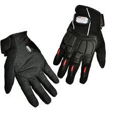 Schwarz Motorrad Handschuhe Roller Biker Textil Nylon Motorradhandschuhe XL