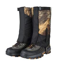 2x Waterproof Outdoor Hiking Climbing Walking Hunting Snow Gaiters Legging