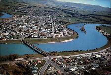 NEUSEELAND New Zealand BALCLUTHA Aerial View Luftfoto-AK Fliegeraufnahme Brücke