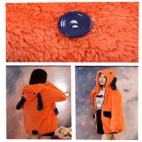 Stock Warm Winter Coat Hoodie Pajamas Kakegurui Compulsive Gambler Runa Yomozuki